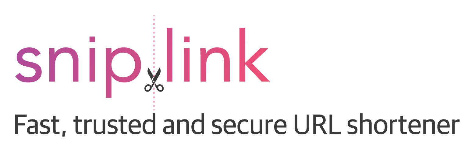 Snip.link - Fast, trusted and secure URL shortener